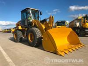 Online auction Caterpillar wheel loaders
