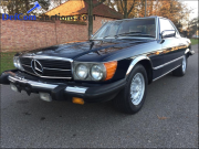 Online auction Mercedes 380 SL 1983 oldtimer