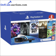 Online auction PlayStation VR megapacks