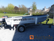 Online auction Visserboat, Tafeltennis Tafel, Winter Banden